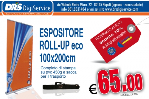 ROLL UP espositori pubblicitari